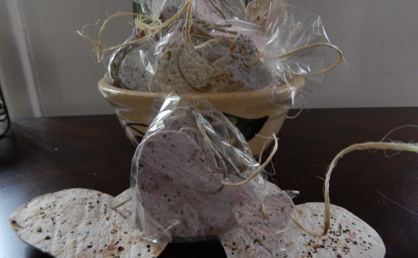 Seed Paper Ornaments